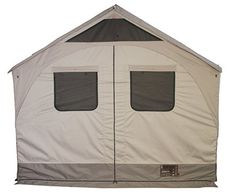 With a Barebones Living Safari Tent: It's Like Being On The Open Plains Of Africa