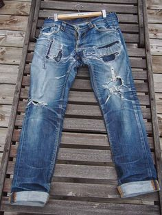 Nudie Thin Finn 5 years 3 washes after