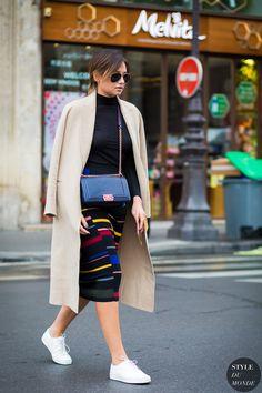 Danielle Bernstein Street Style Street Fashion Streetsnaps by STYLEDUMONDE Street Style Fashion Photography
