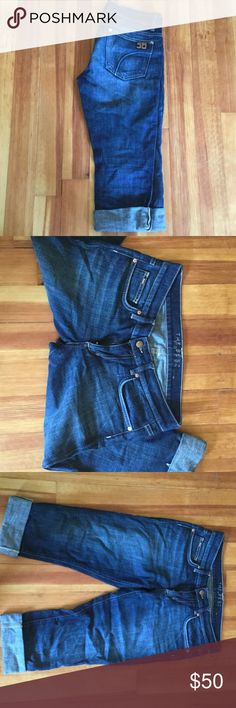 Joe's jeans best friend cropped Capri jean sz 27 Cropped denim Capri, worn maybe 10 times Joe's Jeans Jeans Ankle & Cropped