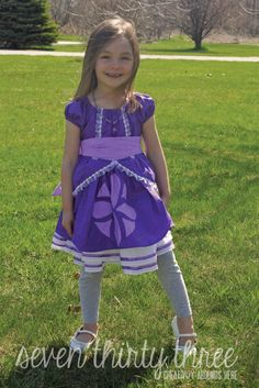 seven thirty three - - - a creative blog: Sofia the First Inspired Dress