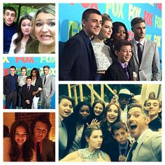 Red Band Society cast @ FOX Fan Front in New York (5/12/14)