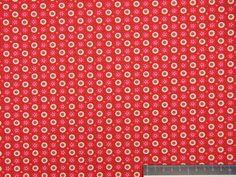 Hilde - bloemetje - roze/rood