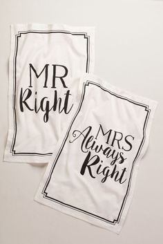 Mr Right and Mrs Alw