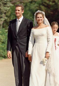 Infanta Cristina of Spain and Iñaki Urdangarin, October 4, 1997