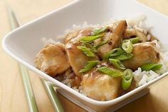 Weight Watchers General Tso's Chicken...sounds yummy!