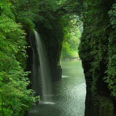 高千穂峡・真名井の滝(2014/9) taken on 宮崎県, 日本
