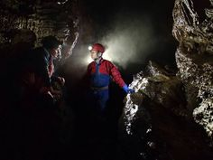 Swildon's Hole main stream passage  www.adventurecaving.co.uk Caves, Somerset, Cheddar, Maine, Adventure, Painting, Art, Art Background, Cheddar Cheese