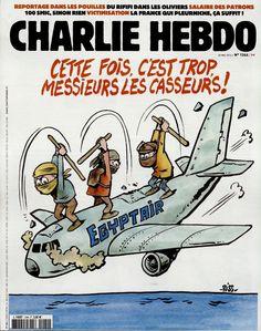 Charlie Hebdo - # 1244 - 25 Mai 2016 - Couverture : Riss