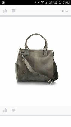 The Oemi baby bag is the perfect alternative to the traditional diaper bag! Leather Diaper Bags, Shoulder Strap, Purses, Grey, Baby Things, Alternative, Change, Pockets, Traditional