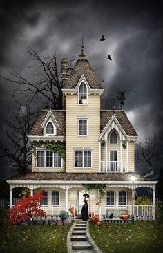 #Halloween Art. On Hallow's Eve by KatherinaRodrigues.deviantart.com
