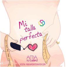 Libérate de las dietas y transforma la relación con tu cuerpo, tu peso y la comida aquí: http://www.mariamontemayor.com/#!el-arte-de-amar-tu-cuerpo/ctzi