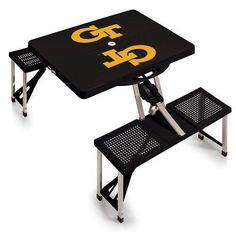 Georgia Tech Portable Picnic Table w/Digital Print