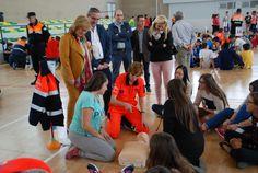 El 061 entrena a cerca de mil jóvenes de Bailén en reanimación cardiopulmonar