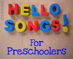 Preschool Hello Songs are a great way to start the day with any nursery group they help kids to get to know each other and establish a familiar routine.