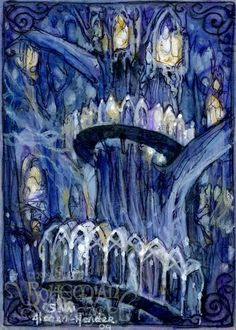 Lorien #lorien #lotr  can you imagine doing this in stained glass?