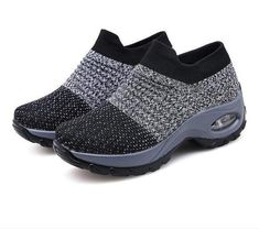 Costbuys Women Summer Sneakers Beat Shoes Ladies Flats Platform Animation Mesh Slip On Tenis Feminino Chaussure Femme Creepers Shoes 1839 Womens Flats Stylish Walking Shoes, Comfy Walking Shoes, Comfy Shoes, Casual Sneakers, Casual Shoes, Summer Sneakers, Nursing Shoes, Nursing Scrubs, Sock Shoes