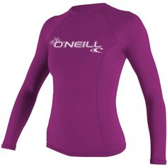 O'Neill Women's Basic Skin Long Sleeve Crew