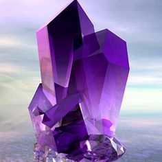 Amethyst: The colour intensity is amazing!