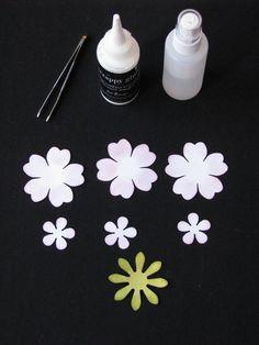 Shabby Crinkle Flower Tutorial