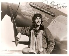 Major Donald Bryan, 328th Fighter Squadron, 352nd Fighter Group, flew P-51 Mustangs.