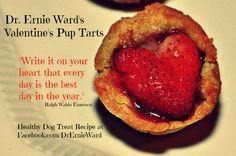 Healthy Valentine's Pup Tarts recipe