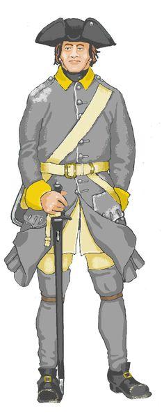 Viborg Fördubbling/Tremänningsregt, Fusilier 1700-1710