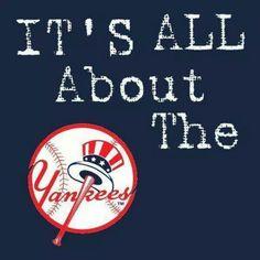 L♥ve my Yankees! Yankees Baby, Yankees Logo, Damn Yankees, New York Yankees Baseball, New York Giants, Baseball Art, Baseball Quotes, No Crying In Baseball, Mlb Teams