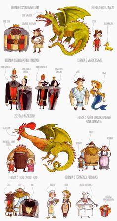 Polish Symbols, Learn Polish, Photography Projects, Kids Education, Poland, Activities For Kids, Fairy Tales, Homeschool, Folk