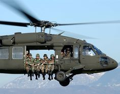helicopters ... and the great men and women of the US Military!