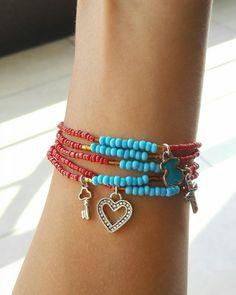 #hechoamano #pulseras #bracelet #handmade #accesorios