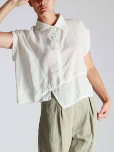 LOOSE BLOUSE...love all the seams heading in different directions