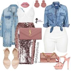 Ni'Cole inspired look. Cute Swag Outfits, Classy Outfits, Chic Outfits, Summer Outfits, Fashion Outfits, Dope Fashion, I Love Fashion, Fashion Looks, Womens Fashion