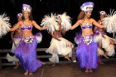 Traditional dancers, Rarotonga, Cook Islands, South Pacific