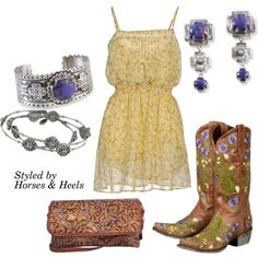 Purple: Color of the Month on Horses & Heels