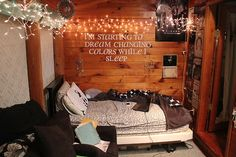 I really like this quote and the fairy lights!