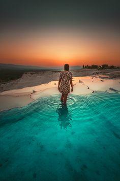 Pamukkale - Aarti Singh, Pamukkale, Turkey Travel, Istanbul, Sunrise, World, Instagram, The World, Sunrises
