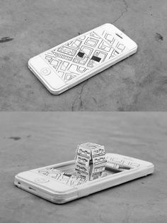 Paper Pop-up Phone by Kevin LCK