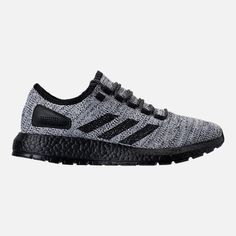 c22bd0ec2 Right view of Men s adidas PureBOOST x ATR Running Shoes in White Black  Running Shoe