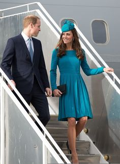 The Duke and Duchess of Cambridge in New Zealand, April 2014 #katemiddleton
