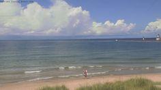Berrien County Beachcam St. Joseph Mi. Silver beach