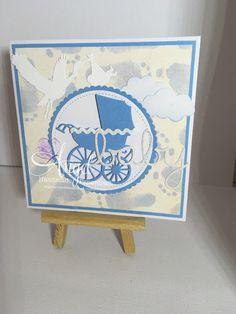 Memory box die Angel handmade Papercraft