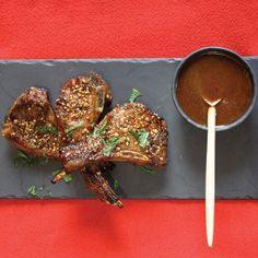 Celebrity chef Siba Mtongana shares her lamb chop with tangy and creamy sauce recipe Lamb Dishes, South African Recipes, Lamb Chops, White Meat, Free Range, Creamy Sauce, Meal Recipes, What's Cooking, What To Cook