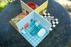 fold away doll house