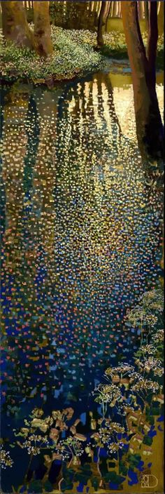 Early Spring ~ artist Ton Dubbeldam, c.2005 #art #oil_painting #mytumblr