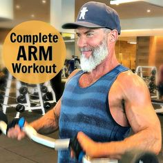 Better Arms: 17 Exercises for Building Biceps and Triceps You can have healthier, more sculpted, better-shaped arms. Increase the firmness and definition in your biceps and triceps with this complete arm workout. Fitness Workouts, Fitness Workout For Women, Muscle Fitness, Mens Fitness, Fun Workouts, Fitness Motivation, Health Fitness, Shape Fitness, Biceps And Triceps