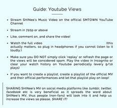 Buy Youtube Subscribers, Shinee, Music Videos
