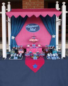 American Idol Party Theme...