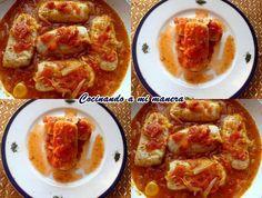 La salsa de tomate gusta mucho en casa, así que la uso como comodín para preparar distintos platos. En esta ocasión la utilicé con unos lomos de merluza y