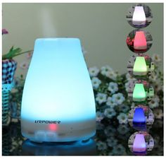 Aromatherapy Essential Oil Diffuser Color Changing Lamp